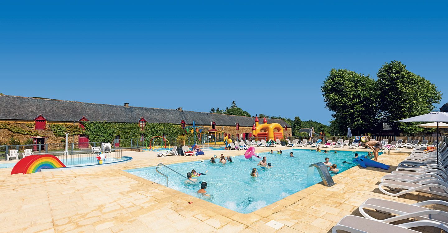 Holiday in Brittany at 5-star Camping Domaine du Logis