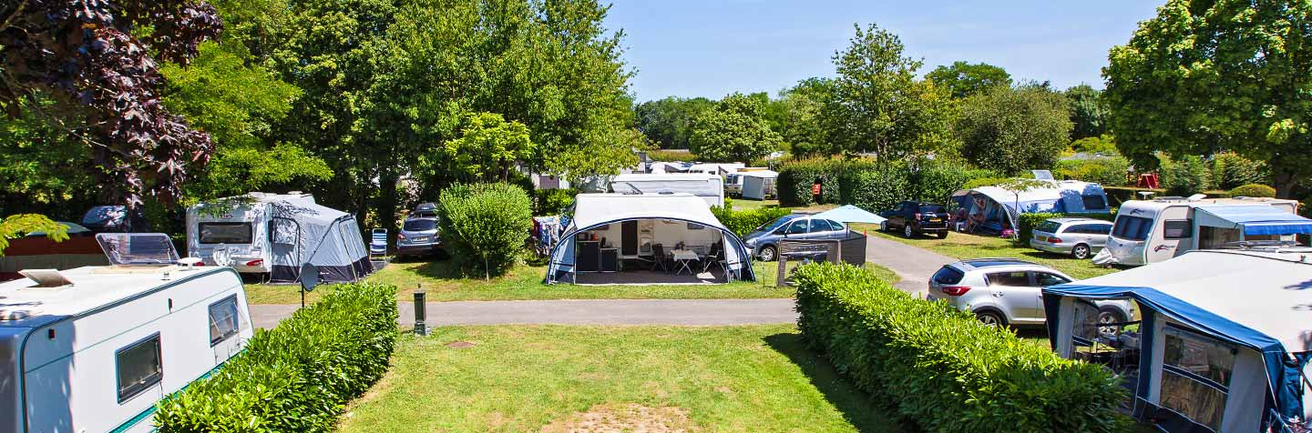 A wooded campsite in Brittany for your holiday